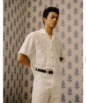 ANDERSSON BELL Shirts Plain Cotton Shirts 6