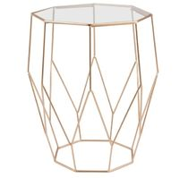 MAISONS du MONDE Gold Furniture Night Stands Table & Chair