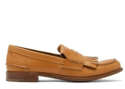 Casual Style Leather Elegant Style Loafer & Moccasin Shoes