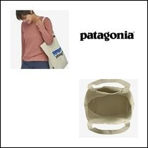 Patagonia Casual Style Street Style Logo Totes