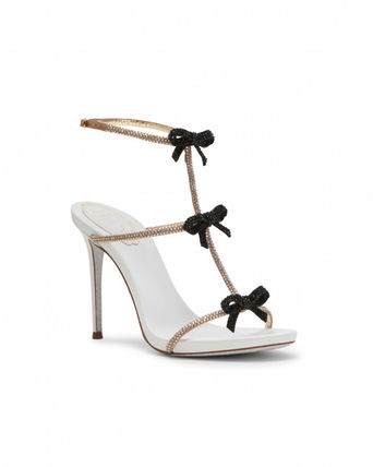 Open Toe Pin Heels Party Style Elegant Style Formal Style