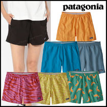 Patagonia Short Tropical Patterns Casual Style Nylon Street Style