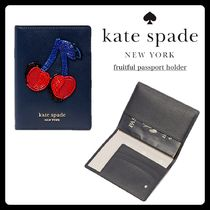 kate spade new york CAMERON STREET Unisex Blended Fabrics Street Style With Jewels