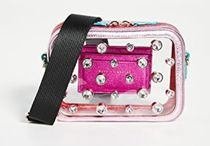SOPHIA WEBSTER Casual Style Party Style Crystal Clear Bags With Jewels