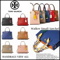 Tory Burch Casual Style Street Style Plain Office Style Logo