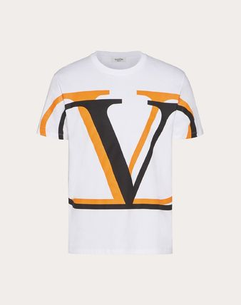 VALENTINO Crew Neck Crew Neck Cotton Short Sleeves Logo Luxury 7
