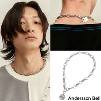 ANDERSSON BELL Unisex Street Style Logo Necklaces & Chokers