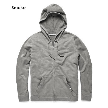 Pullovers Long Sleeves Plain Cotton Surf Style Hoodies