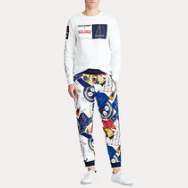 POLO RALPH LAUREN Street Style Oversized Co-ord Matching Sets Sweats