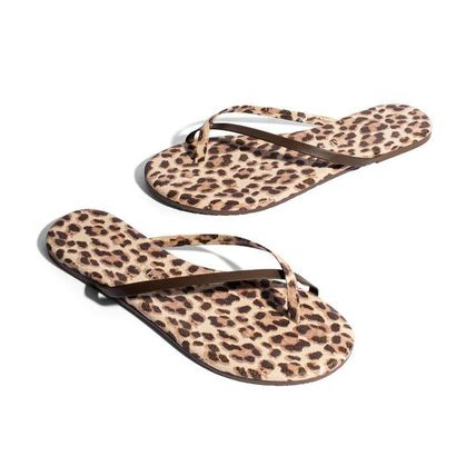 Leopard Patterns Sandals