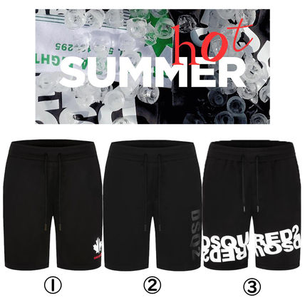 Plain Logo Shorts