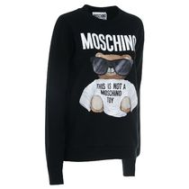 Moschino Casual Style Street Style Long Sleeves Other Animal Patterns
