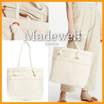 Madewell Casual Style Canvas A4 Plain Totes