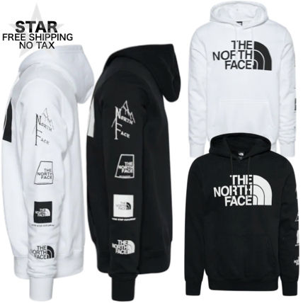 THE NORTH FACE Hoodies Pullovers Unisex Sweat Street Style Long Sleeves Plain