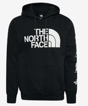 THE NORTH FACE Pullovers Unisex Sweat Street Style Long Sleeves Plain