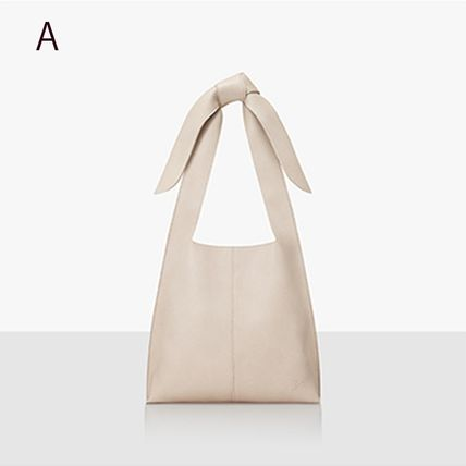 Casual Style Plain Formal Style  Logo Totes