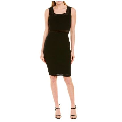 Short Tight Plain Party Style Elegant Style Formal Style