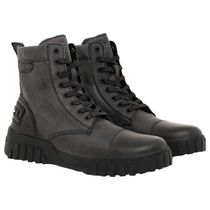 DIESEL Straight Tip Mountain Boots Street Style Leather Logo