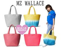 MZ WALLACE Casual Style Unisex Street Style Totes