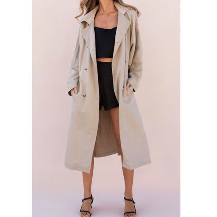 Plain Long Oversized Down Jackets