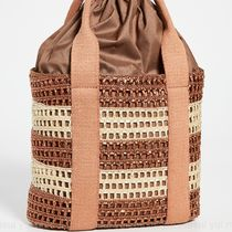CATERINA BERTINI Straw Bags