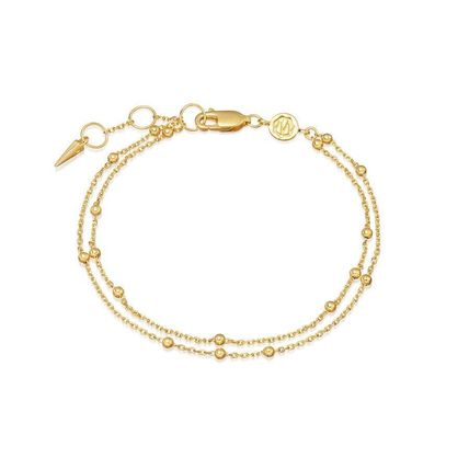 Costume Jewelry Casual Style Street Style Chain 18K Gold
