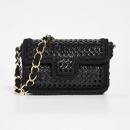 Casual Style Chain Party Style Elegant Style Shoulder Bags