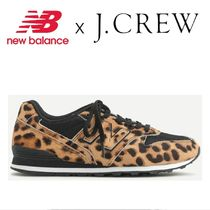 New Balance 996 Leopard Patterns Casual Style Street Style Low-Top Sneakers