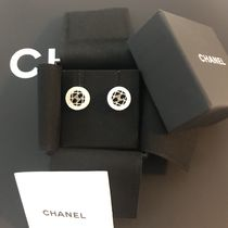 CHANEL ICON Costume Jewelry Casual Style Earrings