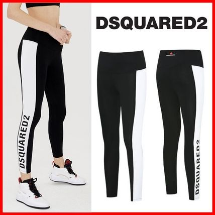 D SQUARED2 Casual Style Street Style Logo Bottoms