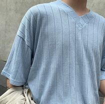 More T-Shirts Plain Cotton Short Sleeves Oversized T-Shirts 11