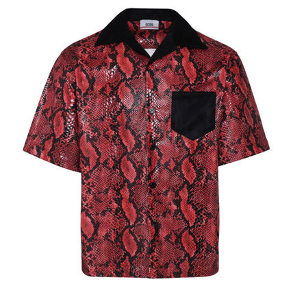 Other Animal Patterns Short Sleeves Shirts