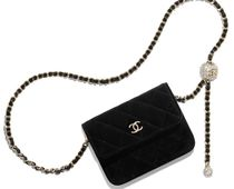 CHANEL MATELASSE Casual Style 2WAY Plain Party Style Office Style