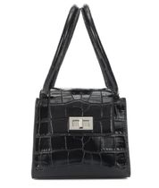 by FAR Casual Style Crocodile Plain Leather Office Style Totes