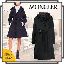 MONCLER Casual Style Nylon Blended Fabrics Street Style Bi-color