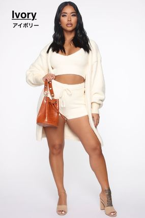FASHION NOVA Plain Co-ord Loungewear Lounge & Sleepwear