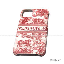 Christian Dior Other Animal Patterns Leather Logo iPhone 11 Pro