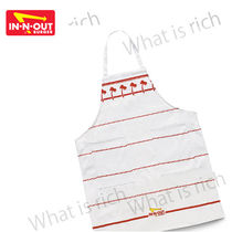 IN-N-OUT BURGER Unisex Street Style Aprons