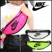 Nike Casual Style Unisex Street Style Plain Crystal Clear Bags