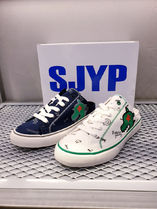SJYP Casual Style Street Style Low-Top Sneakers