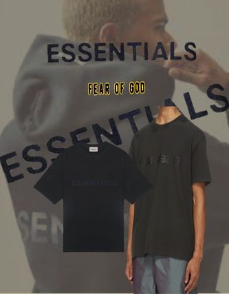FEAR OF GOD More T-Shirts Street Style Short Sleeves Oversized T-Shirts