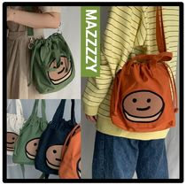 MAZZZZY Casual Style Street Style Shoulder Bags