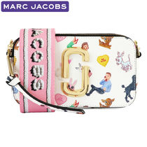 MARC JACOBS Snapshot Casual Style 2WAY Leather Crossbody Shoulder Bags