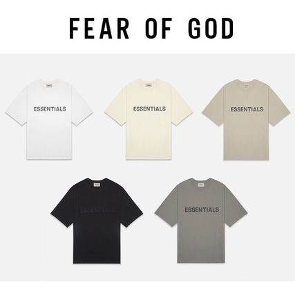 FEAR OF GOD More T-Shirts Unisex Street Style Short Sleeves Logo T-Shirts