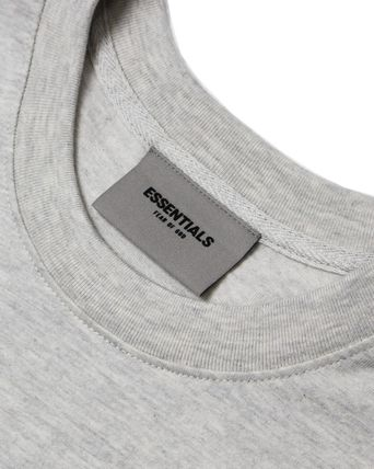 FEAR OF GOD Crew Neck Crew Neck Pullovers Unisex Street Style Plain Cotton 14