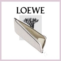 LOEWE Leather Long Wallet  Small Wallet Card Holders