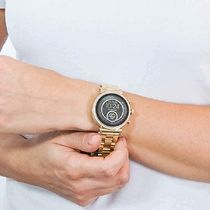 Michael Kors Casual Style Round Stainless With Jewels Office Style