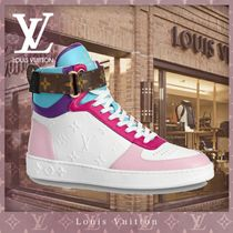 Louis Vuitton MONOGRAM Monogram Casual Style Blended Fabrics Street Style Logo