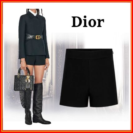 Christian Dior Short Casual Style Wool Silk Shorts