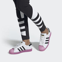 adidas SUPERSTAR Rubber Sole Casual Style Street Style Low-Top Sneakers